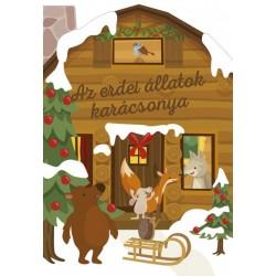 Az erdei állatok karácsonya - Karácsonyi lapozó