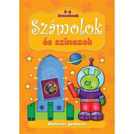 Anna Podgórska: Matricás gyakorló - Számolok és színezek 5-6 éveseknek