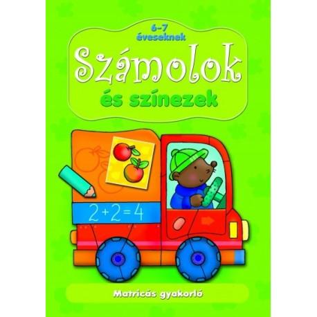 Anna Podgórska: Számolok és színezek 6-7 éveseknek