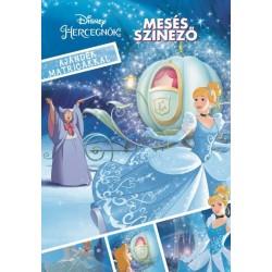 Disney Hercegnők - Mesés színező ajándék matricákkal