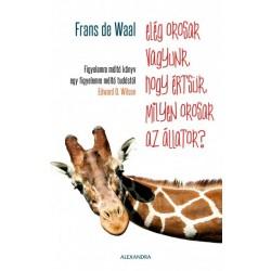 Frans De Waal: Elég okosak vagyunk, hogy értsük, milyen okosak az állatok?