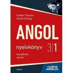 Czobor Zsuzsa - Horlai György: Andol nyelvkönyv 3/1. - Lopva angolul - kezdőknek - 9. kiadás