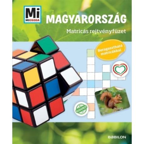 Francz Magdolna: Mi MICSODA - Magyarország - Matricás rejtvényfüzet