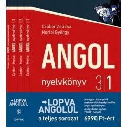 Czobor Zsuzsa - Horlai György: Lopva angolul - 1-4. kötet