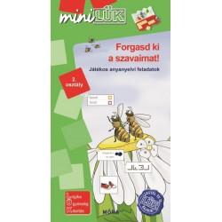 Forgasd ki a szavaimat! - játékos anyanyelvi feladatok 2. osztály - LDI541 - MiniLÜK