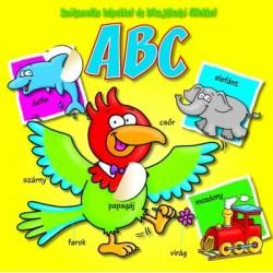 ABC - szótanulás képekkel és kihajtható fülekkel