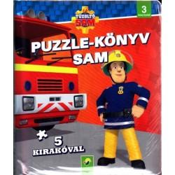 Puzzle-könyv - Sam - 5 kirakóval - 3 éves kortól