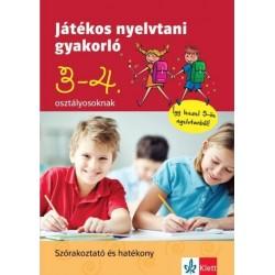 Petik Ágota Margit: Játékos nyelvtani gyakorló 3. és 4. osztályosoknak