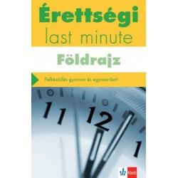 Neumann Viktor: Érettségi - Last minute - Földrajz