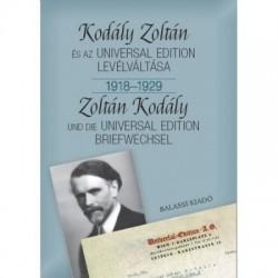 Bónis Ferenc: Kodály Zoltán és az Universal Edition levélváltása I. 1918-1929