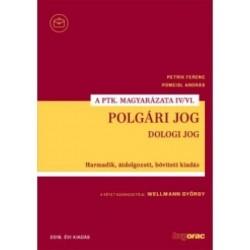 Dr. Wellmann György: Polgári jog IV/VI. - Dologi jog