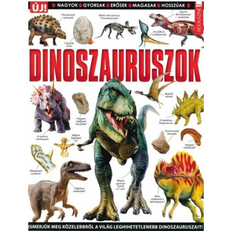 Füles bookazine - Dinoszauruszok