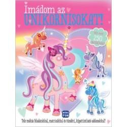 Imádom az unikornisokat! - matricás foglakoztatókönyv