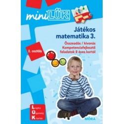 Játékos matematika 3. - 2. osztály - LDI220 - Minilük