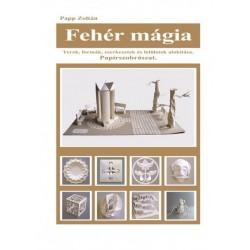 Papp Zoltán: Fehér mágia - Terek, formák, szerkezetek és felületek alakítása. Papírszobrászat.