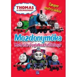 Thomas, a gőzmozdony - Mozdonymóka - Foglalkoztatókönyv 100 matricával