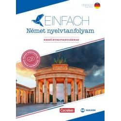 Eva Heinrich - Andrew Maurer: Einfach Német nyelvtanfolyam - Kezdő nyelvtanulóknak - 2 könyv + 3 CD