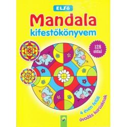 Első Mandala kifestőkönyvem - 4 éven felüli óvodás korúaknak - 128 oldal