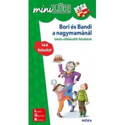 christiane wagner: Bori és Bandi a nagymamánál - LDI233 - Iskola-előkészítő feladatok - MiniLÜK