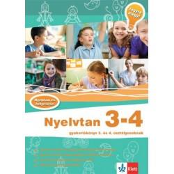 Hasmann Károlyné: Nyelvtan 3-4 - Gyakorlókönyv 3. és 4. osztályosoknak - Jegyre megy!
