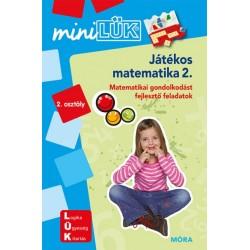 Játékos matematika 2. - Kompetenciafejlesztő feladatok 7 éves kortól - MiniLÜK