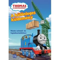 Thomas a Gőzmozdony - A különleges küldemény - Mesés színező- és foglalkoztatókönyv