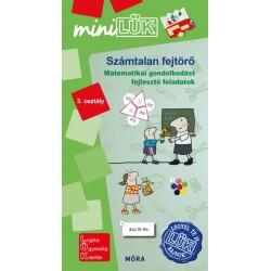 Számtalan fejtörő 3. osztály - Matematikai gondolkodást fejlesztő feladatok - MiniLÜK