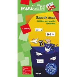 Szavak ásza 2. osztály - Játékos anyanyelvi feladatok - MiniLÜK