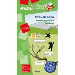 Szavak ásza - 4. osztály - Játékos anyanyelvi feladatok - MiniLÜK