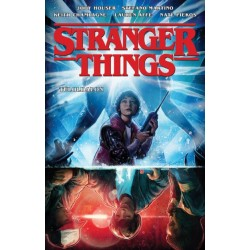 Jody Houser - Stefano Martino: Stranger Things - Túloldalon