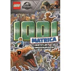 LEGO Jurassic World 1001 matrica - Hihetetlen dinoszauruszok