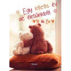 Lengyel Orsolya: Te és Én - Egy közös év az életünkből (macis borító)