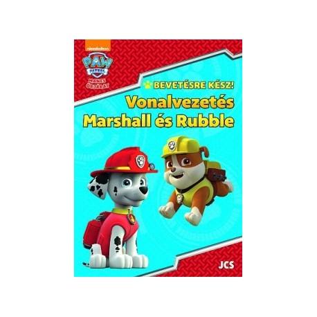 Mancs Őrjárat - Bevetésre kész! - Vonalvezetés - Marshall és Rubble
