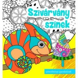 Szivárvány színek - Színezőkönyv gyerekeknek, felnőtteknek