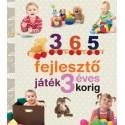 365 fejlesztő játék 3 éves korig - Neveljünk egészséges gyereket!