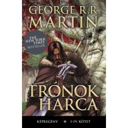 Daniel Abraham - George R. R. Martin: Trónok harca képregény I-IV. kötet (díszdobozban)