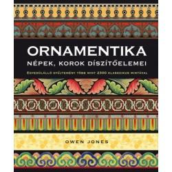 Owen Jones: Ornamentika - Népek, korok díszítőelemei - Egyedülálló gyűjtemény több mint 2300 klasszikus mintával