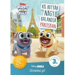 Kis kutyák nagy kalandja Párizsban - Disney Suli Olvasni jó! sorozat 3. szint