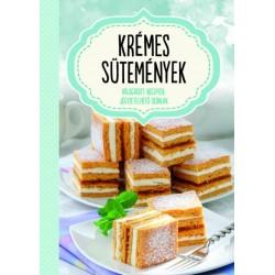 Krémes sütemények - jegyzetelhető oldalakkal