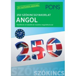 Birgit Piefke-Wagner: PONS 250 Szókincsgyakorlat Angol
