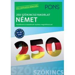 Ines Balcik: PONS 250 Szókincsgyakorlat Német