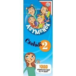 Agymenők Családi kártyacsomag 2. - 1000 érdekes kérdés, válasz és szórakoztató feladat az egész családnak