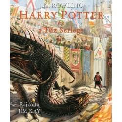 J. K. Rowling: Harry Potter és a Tűz serlege - Illusztrált kiadás