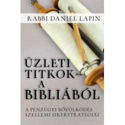 Rabbi Daniel Lapin: Üzleti titkok a Bibliából - A pénzügyi bővölködés szellemi sikerstratégiái