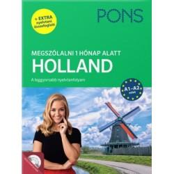 Birgit Lijmbach: PONS Megszólalni 1 hónap alatt - Holland - A1-A2 szint (+ extra nyelvtani összefoglaló)