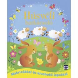 Húsvéti barkácsoló - Matricákkal és kivehető lapokkal