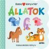 Babakönyvtár - Állatok - Kukucskálós könyv