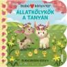 Babakönyvtár - Állatkölykök a tanyán - Kukucskálós könyv