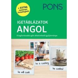 Samantha Scott: PONS Igetáblázatok - Angol - A legfontosabb igék áttekinthető gyűjteménye