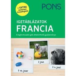 Pascale Rousseau: PONS Igetáblázatok - Francia - A legfontosabb igék áttekinthető gyűjteménye